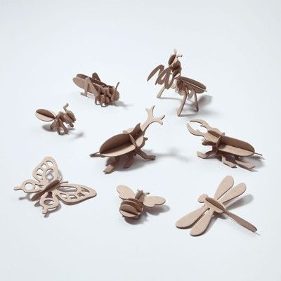 3D Puzzle Insects- how cool are these!!!