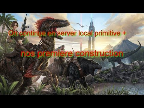 Enjoy Game's: ARK xbox one on continue en server local