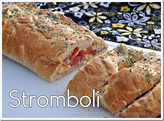 how to make stromboli video