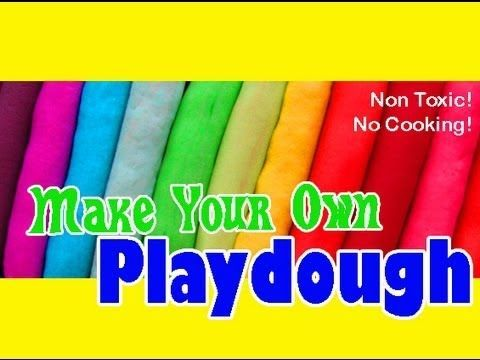 how to make playdough without cream of tartar or flour