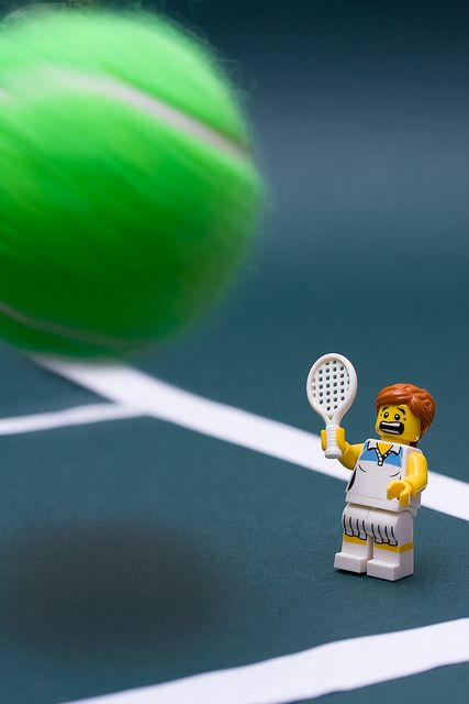 .Just as well the #Wimbledon #Tennis #Balls are not quite this big!