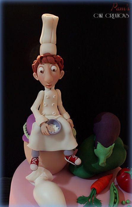 RATATOUILLE CAKE - by PamsCakeCreations @ CakesDecor.com - cake decorating website
