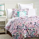 Rockin Paisley Duvet Cover, Twin, Multi