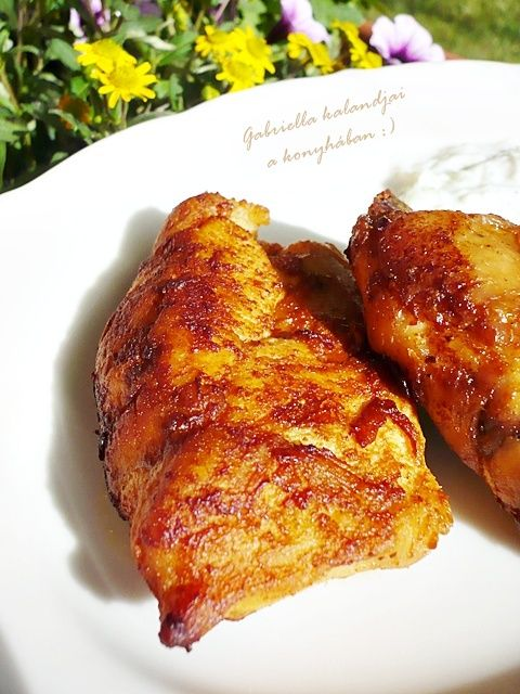 Görög csirke joghurtmártással