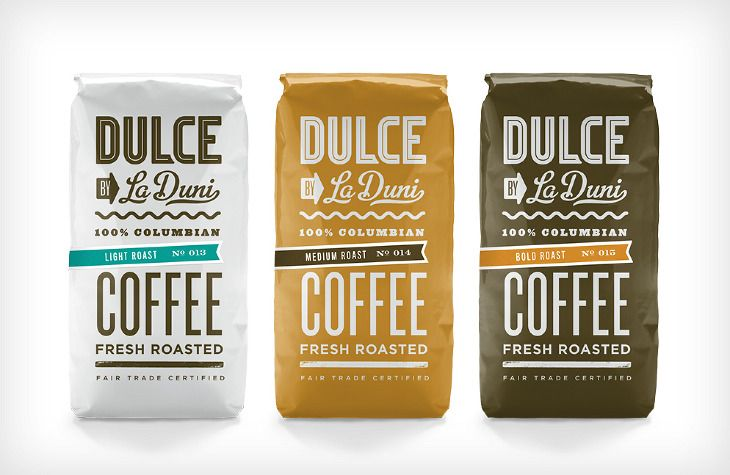 Dulce Coffeeshop Branding   Restaurant branding, marketing and other notes on various design topics