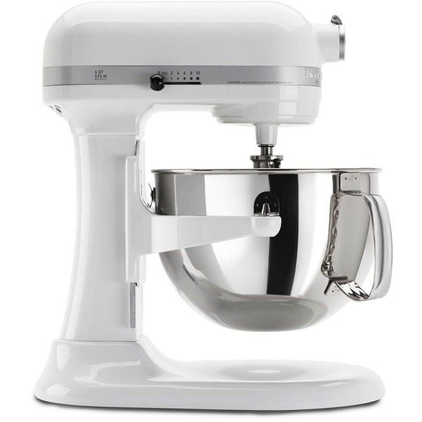 KitchenAid Professional 600 Series Bowl-Lift Stand Mixer (€425) ❤ liked on Polyvore featuring home, kitchen & dining, small appliances, kitchenaid standmixer, kitchenaid, kitchen aid mixers, kitchen aid small appliances and kitchenaid standing mixer