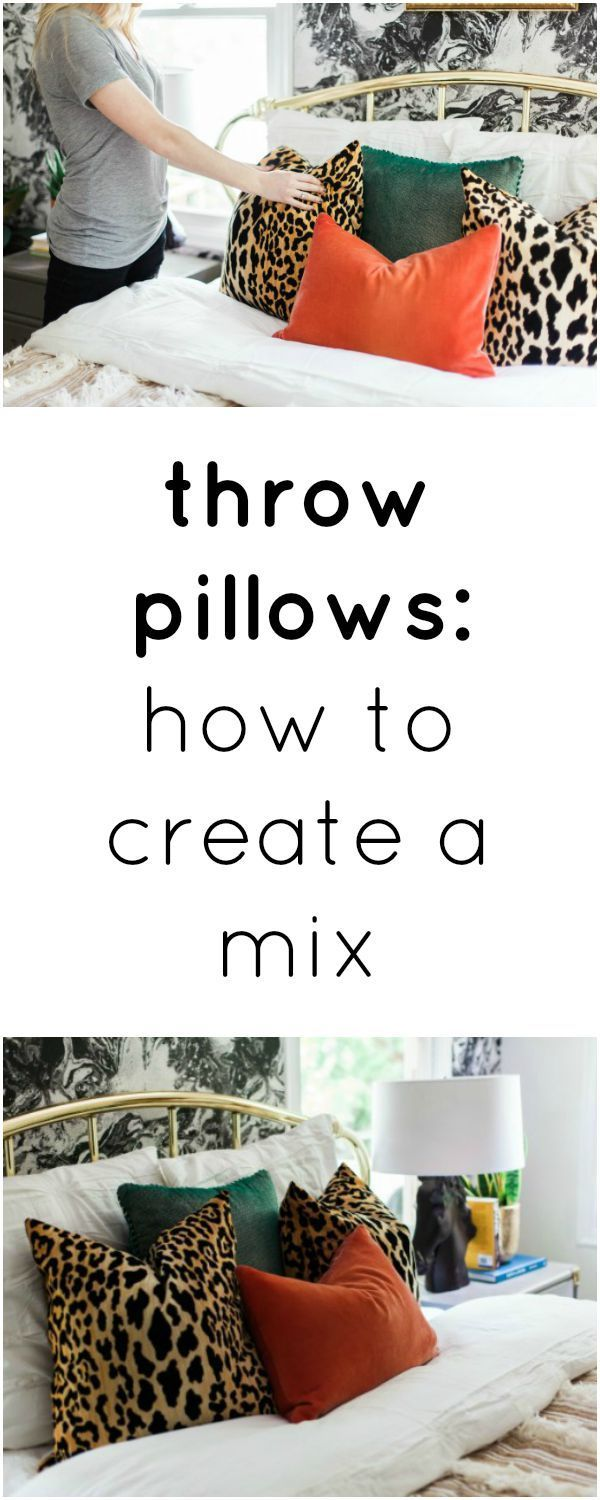 how to mix patterns | pattern mixing | how to mix patterns and colors | how to decorate with patterns | throw pillows |