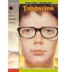 Discussion guide for Tangerine by Edward Bloor. Several discussion questions are presented. Have students discuss the questions and use text evidence in a fish bowl.