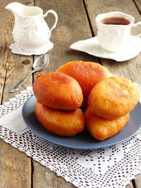 Жареные пирожки с творогом на сковороде
