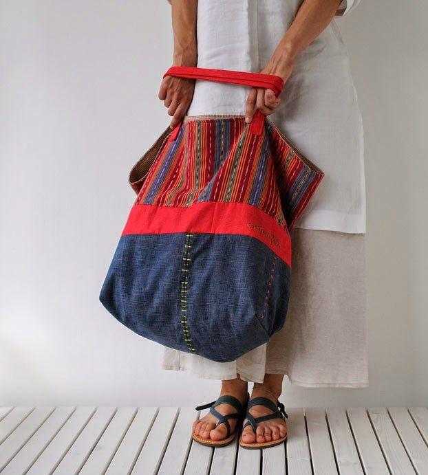 Con un filo: La borsa griffata