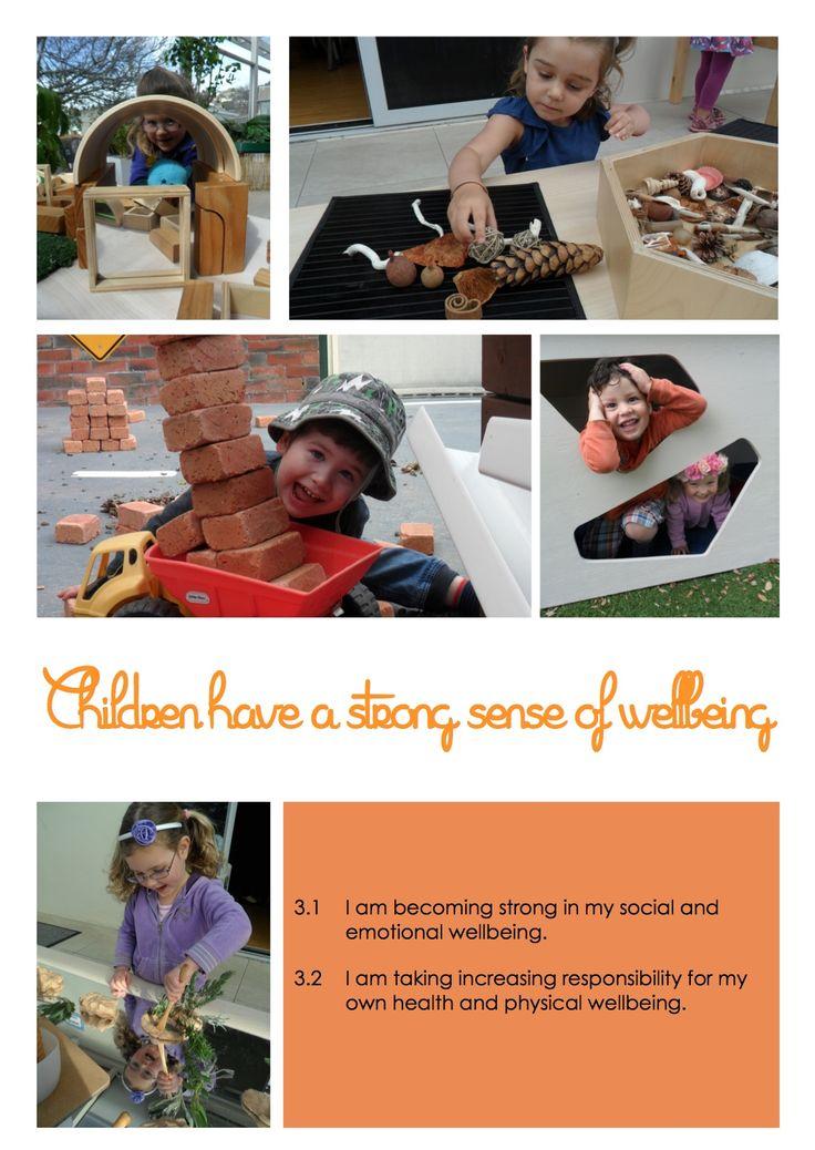 EYLF Poster @ New Horizons Preschool