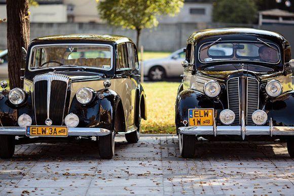 Zabytkowy samochód do ślubu Łódź