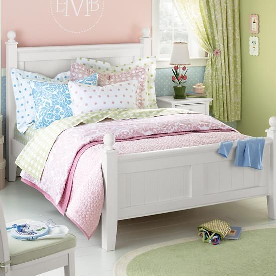 The Land Of Nod Kids 39 Beds Kids Painted White Walden Beadboard Beds In Furniture For The
