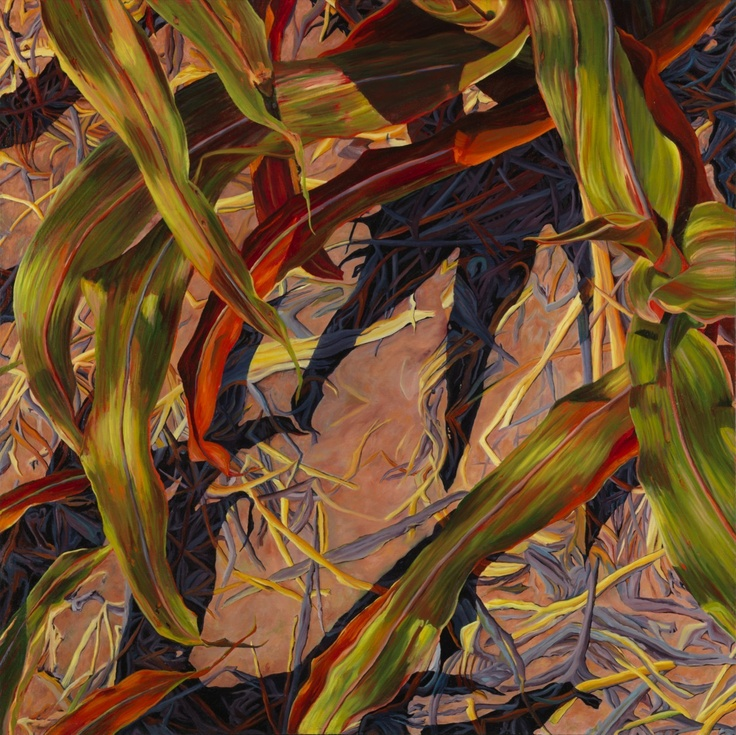 Intensity-Corn by Tamra Harrison Kirschnick, resident artist at Chroma. http://www.chromaprojects.com/intensity-corn-tamra-harrison-kirschnick/