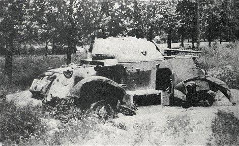 This Staghound of the XII Manitoba Dragoons was knocked-out near Eerde, in the region of Ommen (The Netherlands), March1945. The crew escaped unharmed.