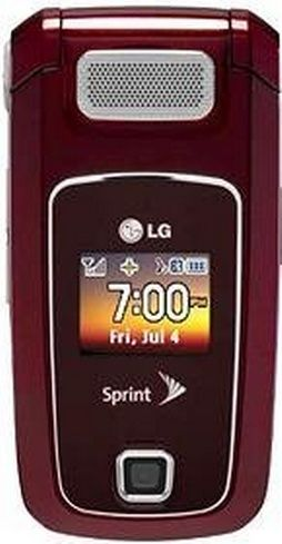 LG LX400 Sprint Cell Phone - For Sale