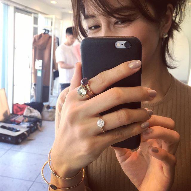 @pomellato #pomellato #jewelry  Stlying by @stylist_yutaka