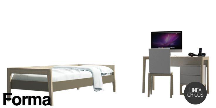 Set de cama y escritorio