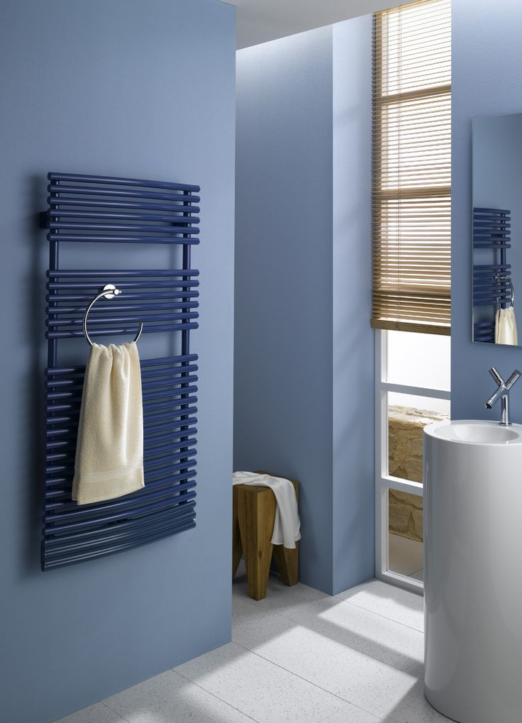 Towel rails also available in blue