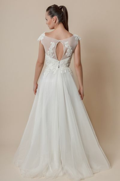 Forever starts here. With your very own Nicole Enea wedding dress. Find your favorite at www.nicolenea.com #femininity never goes out of style.