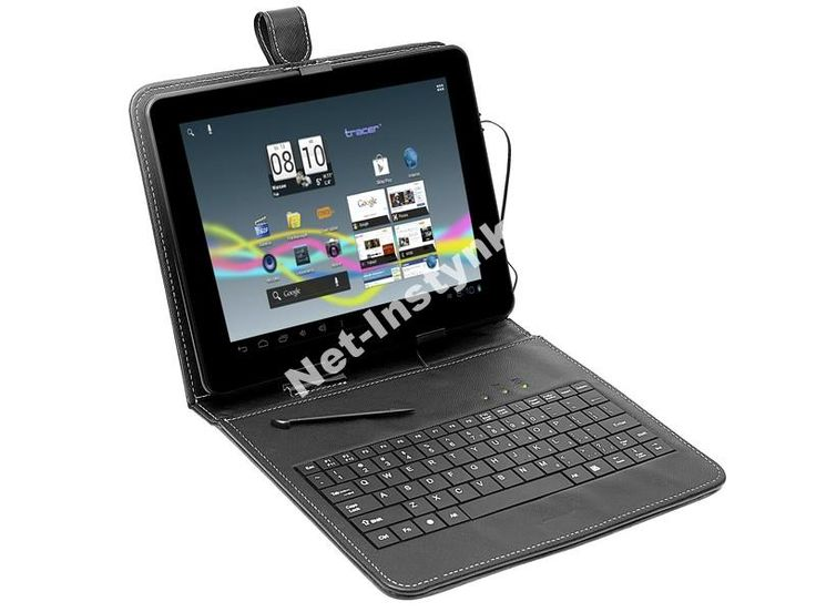 Etui Tablet Tracer 9,7  klawiatura USB micro