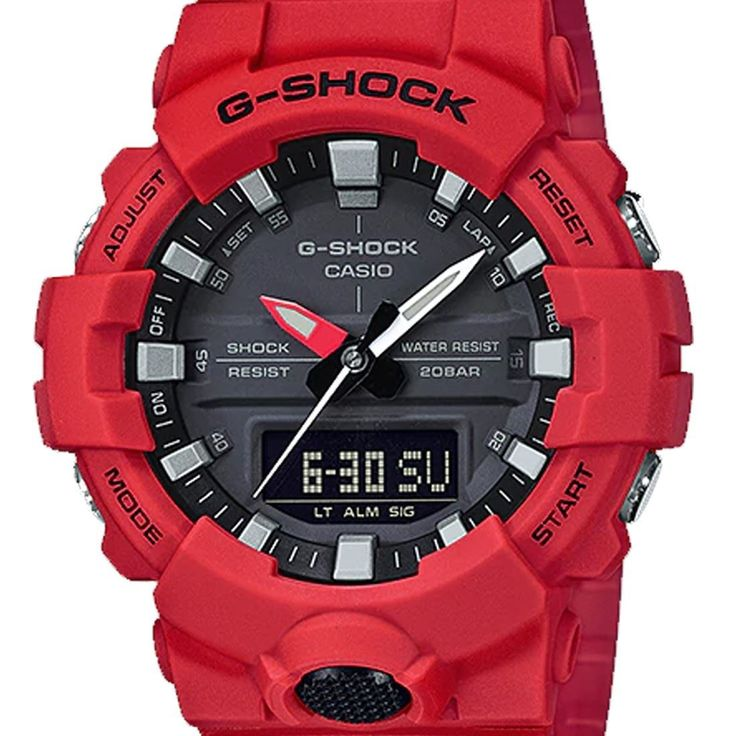 Chronograph-Divers.com - GA-800-4ADR GA-800-4A Casio G-Shock Digital Analog Watch, $92.00 (https://www.chronograph-divers.com/ga-800-4adr-ga-800-4a-casio-g-shock-digital-analog-watch/)