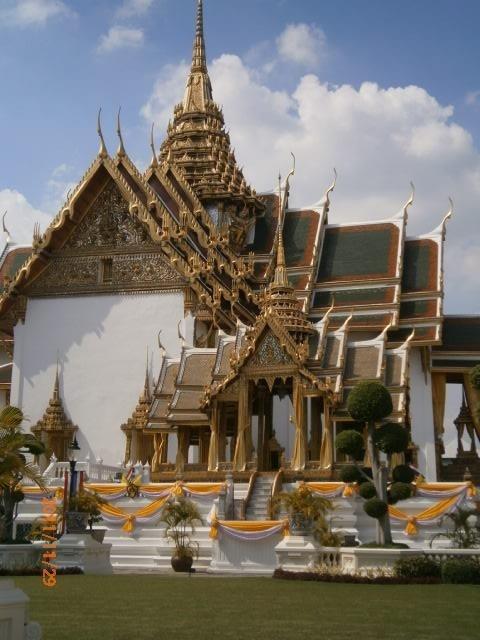 Grand Palacio, Bangkok Tailand