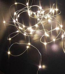 Lankavalosarja 100 lamppua, lämmin valkoinen; Jääkristalli