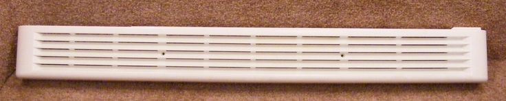 WB07X10196 GE MICROWAVE Oven White Top Vent Grille Cover