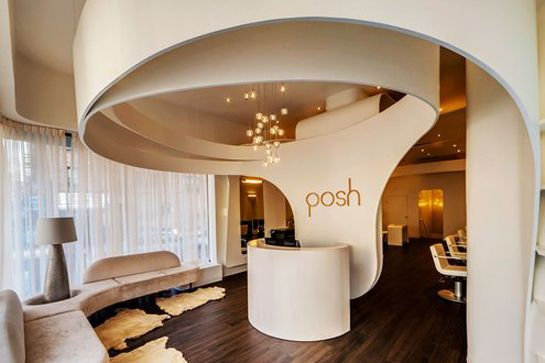 The Best Cheap Haircuts In NYC #refinery29  http://www.refinery29.com/cheap-haircuts-nyc#slide-1  Posh Hair Studio  Cuts: Start at $25, without blowdry; Start at $50, with blowdry.  The salon may have a sleek, 2001: A Space Odyssey vibe, but the stylists receive high praise for their warmth. (One customer even raves on Yelp that the staff fed t...