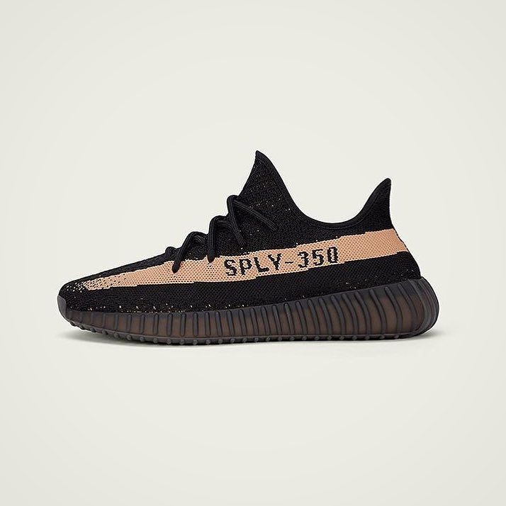 #YEEZYBOOST 350V2 by @kanyewest in black/copper drops tomorrow. You still have half an hour to enter our raffle - head over to the website to enter (link in bio). Best of luck!  #yeezyboost #yeezy #350 #350v2 #kanyewest #kanye #adidas