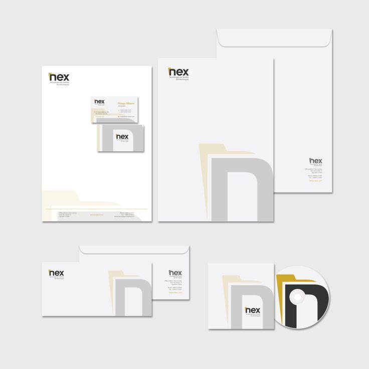 Stationery design for Nex