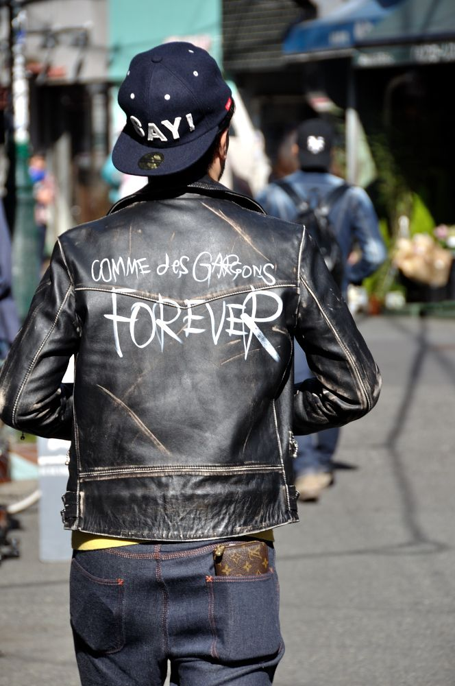 MITYP: on the street .. Harajuku - COMME des GARCONS×Lewis Forever Leathers Limited Aoyama / コムデギャルソンは永遠に -