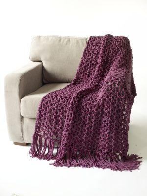 throwSuper Bulky, Hour Throw, Free Pattern, Throw Super, Lion Brand Yarn, Brand Yarns, 1 2 Hour, Crochet Throw, Crochet Pattern