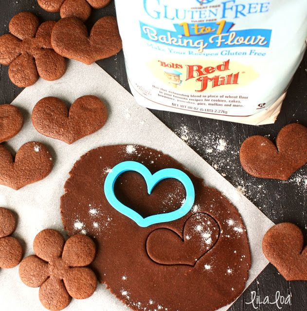 No Chill Gluten Free Chocolate Roll Out Sugar Cookie Recipe