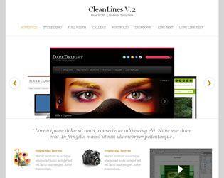 CleanLines V.2 Website Template Web Site Design Arizona| #WebDesignArizona #webdesign #Website