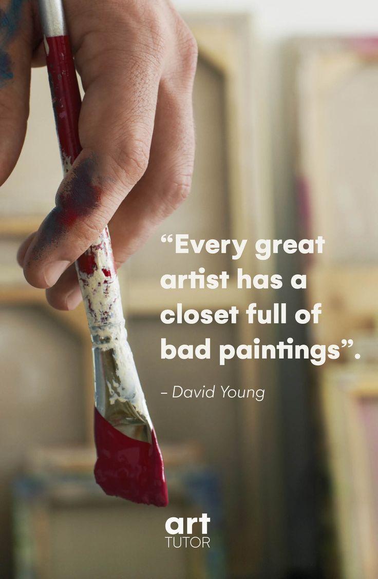 Jeder große Künstler hat einen Schrank voller sc…