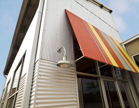 Corrugated metal siding installation details google for Metal building house conversion