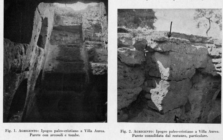 Importanti Scavi Nella Valle dei Templi Negli Anni Quaranta del Novecento