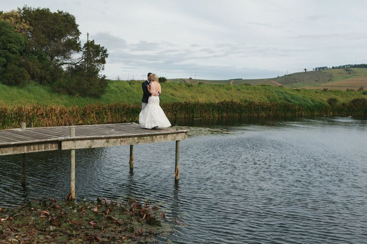 Bride & groom at the beautiful Nitida Wine Farm - Le Sueur Photography