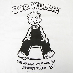 I once went to a fancy dress party as Oor Wullie! Probably only other Scots would get that!