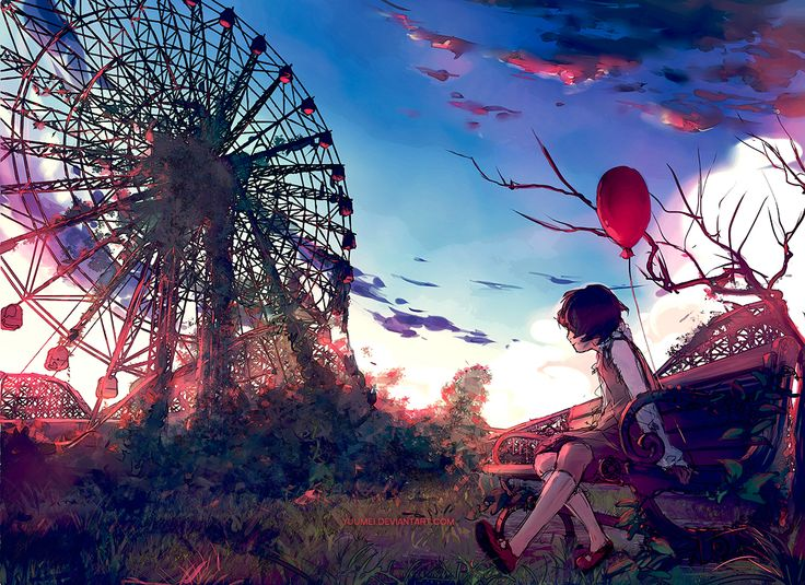 Don't Forget Me by yuumei.deviantart.com on @DeviantArt