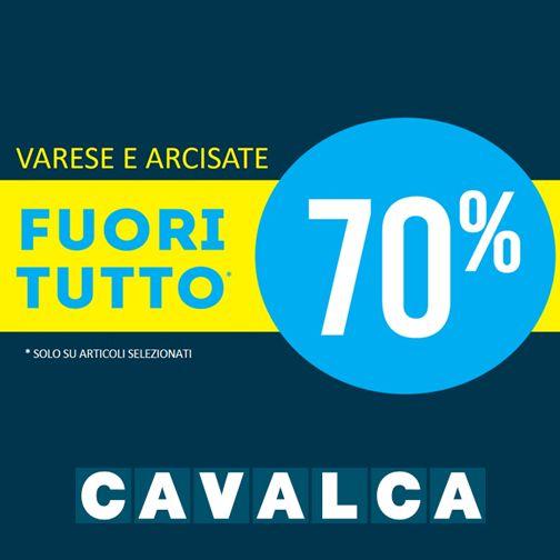 Un'estate di super #saldi da #Cavalca: tante proposte #moda per tutta la famiglia con un ulteriore ribasso fino al 70%! #sconti #cavalca #arcisate #varese