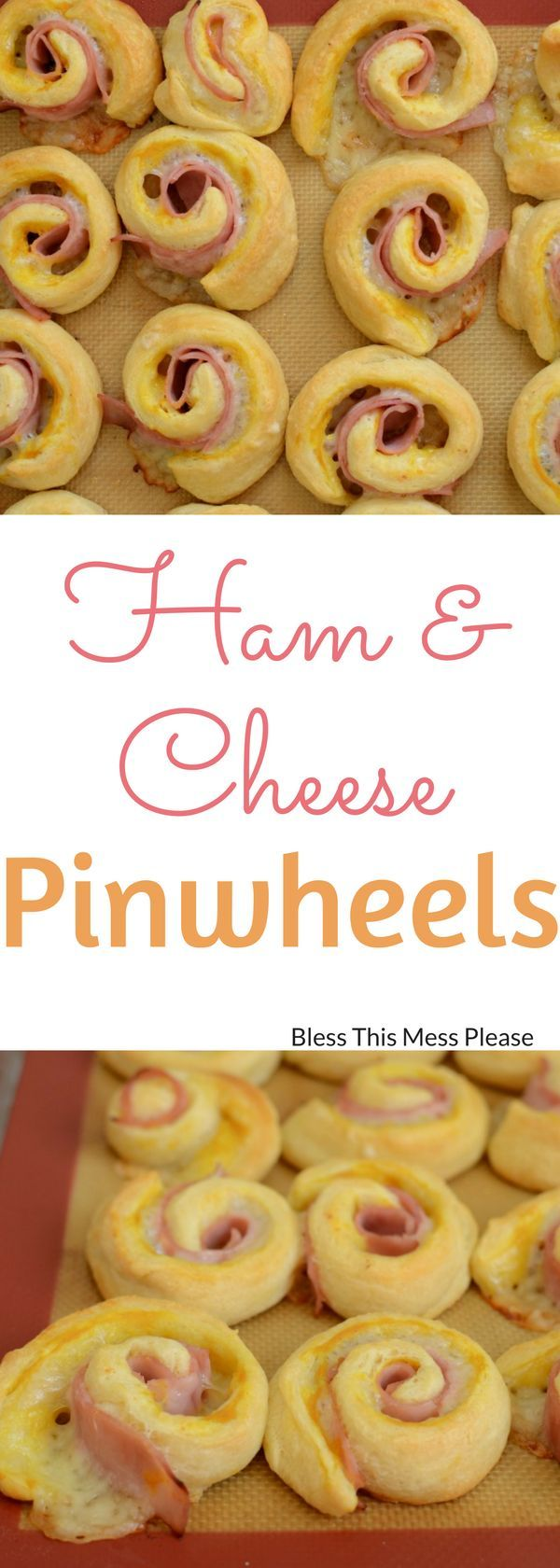 Quick and Easy Ham and Cheese Pinwheels