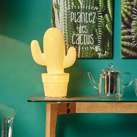 lampe a poser cactus