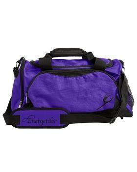 NEW 2013, Energetiks Large Dance Bag, Black/Deep Purple, DB21 Size 52cm (L) x 30cm (H) x 26cm (W)  Retail Price $49.95 Our Price: $45.95