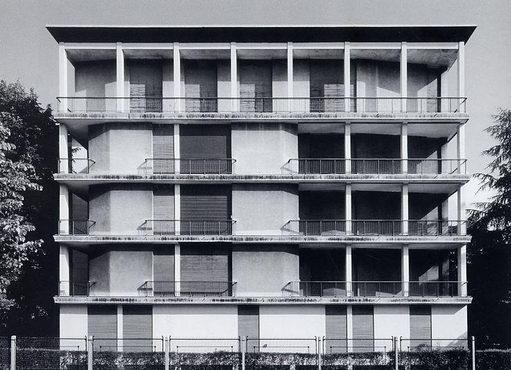 Casa Tognella   1953   Milan, Italy   Ignazio Gardella