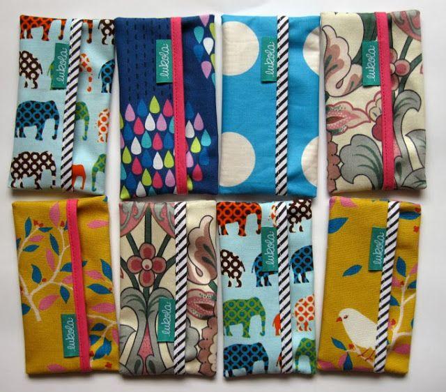 lukola handmade // Etui na chusteczki - chusteczniki // Cases for wipes