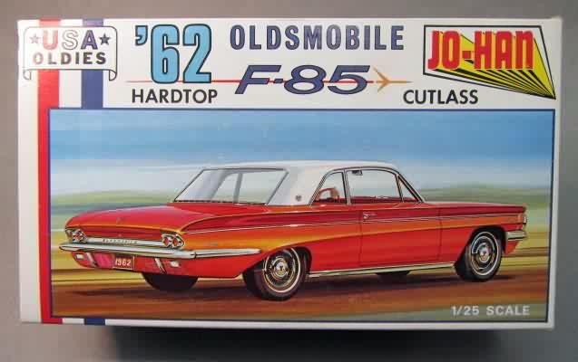 Johan - '62 Oldsmobile F85 Cutlass | Model Kit Box Art | Pinterest | Model cars kits, Model and Plastic model kits