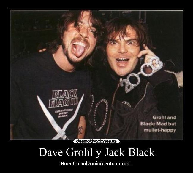 dave grohl y jack black